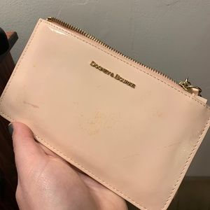 Dooney & Bourke Blush Pink Patent Leather Wristlet